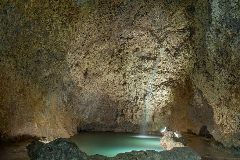 Jeskyně Harrison´s cave, Barbados