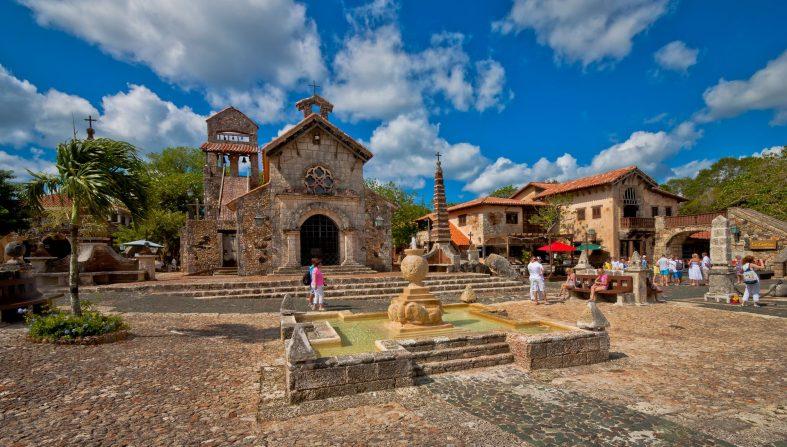 Historické město Altos de Chavon