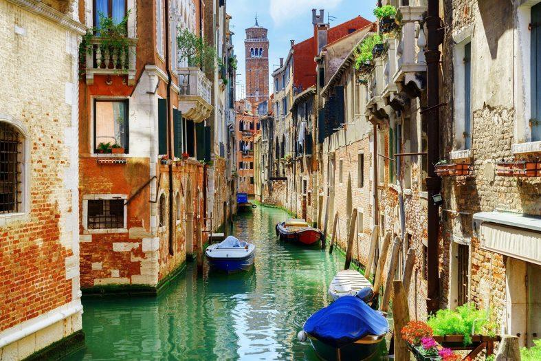 Slavné benátské kanály