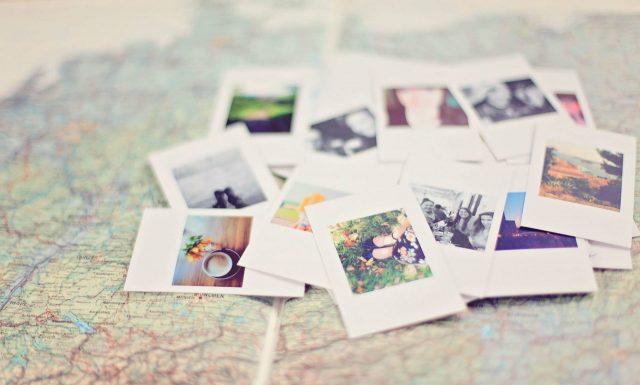 Koláž z fotografií jako dar