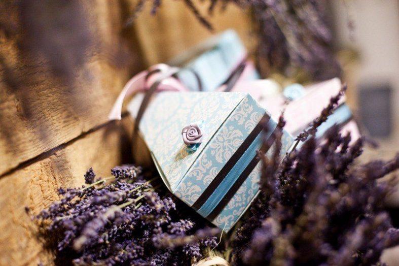 Svatební krabička na výslužku
