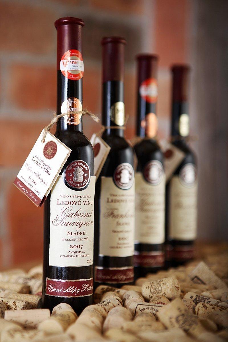 Ledové víno Cabernet Sauvignon