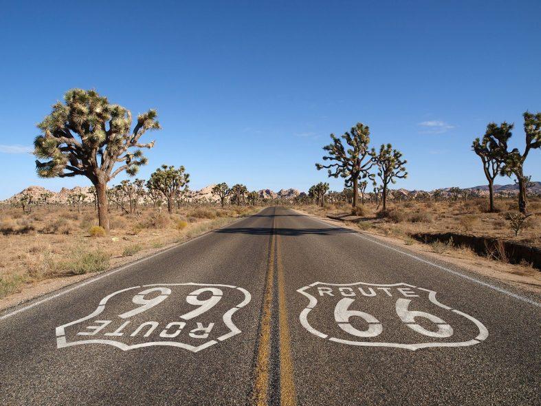 Legendární silnice Route 66