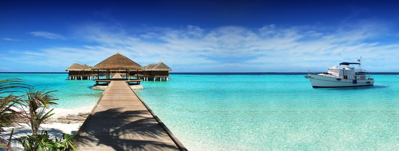Maledivy na jachtě