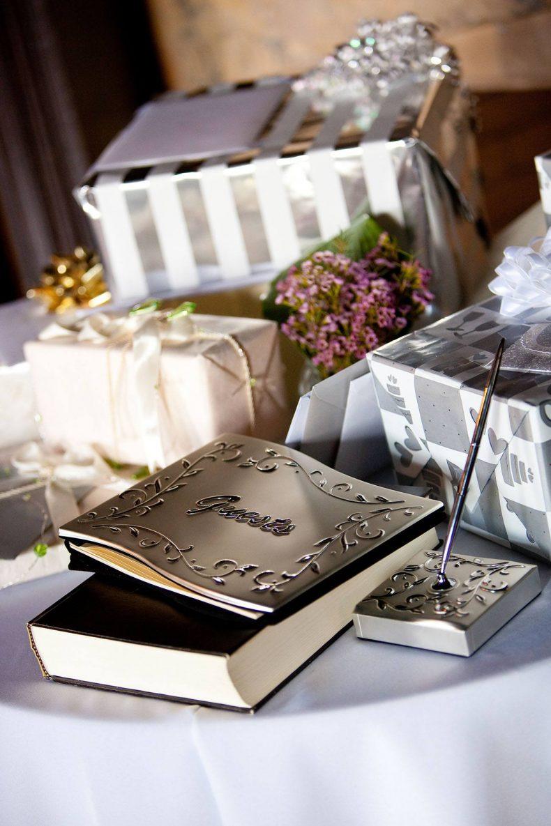 Moderní kniha hostů