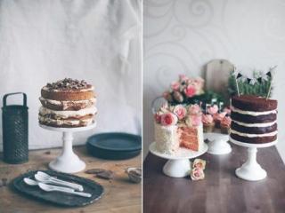 Nahé mini svatební dorty
