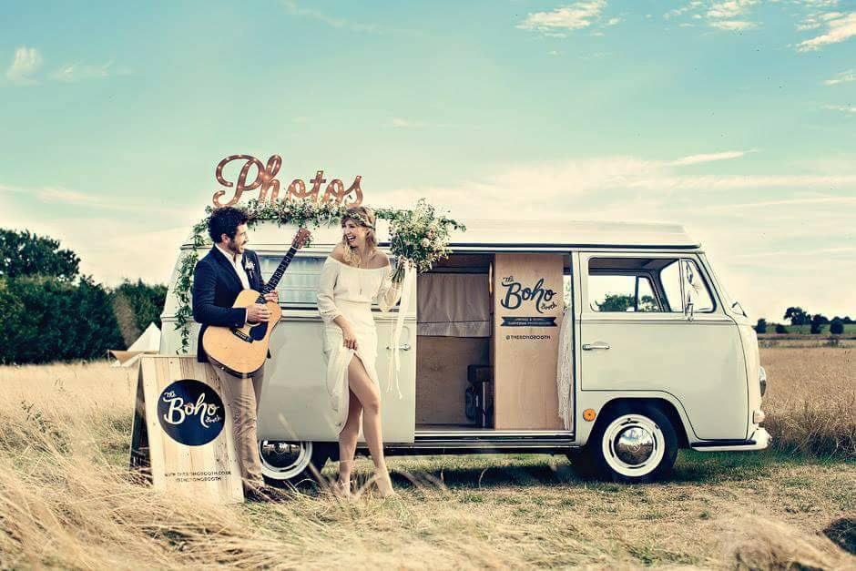 Svatební fotokoutek: originální svatební zábava