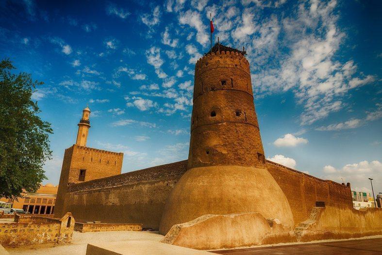 Pevnost Al Fahidi Spojené arabské emiráty