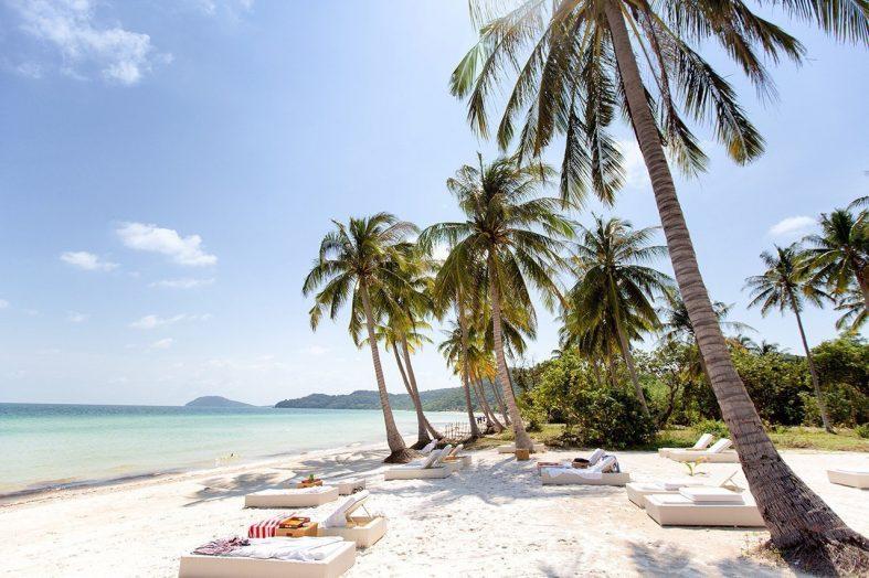 Pláž Bai Sao Beach, ostrov Phu Quoc