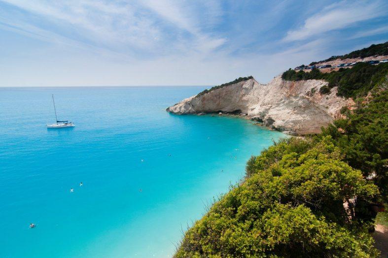 Řecká pláž a příroda