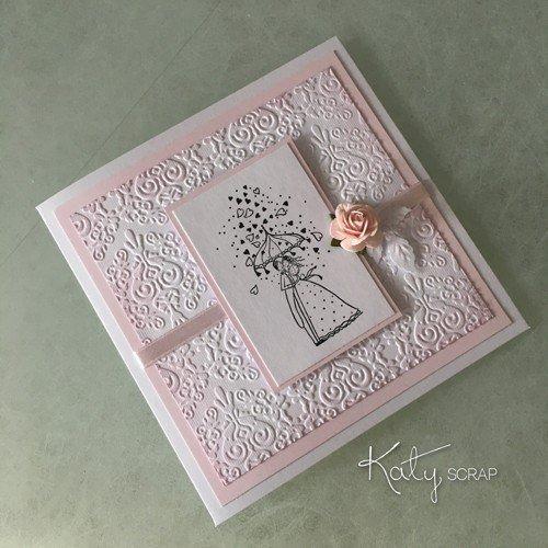 Růžová dárková krabička