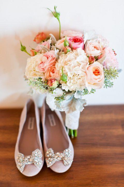 Baleríny - ideální svatební obuv