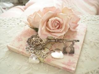 Růžový svatební diář