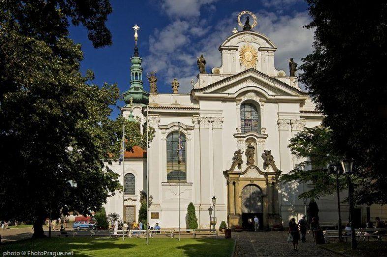 Strahovský klášter Praha