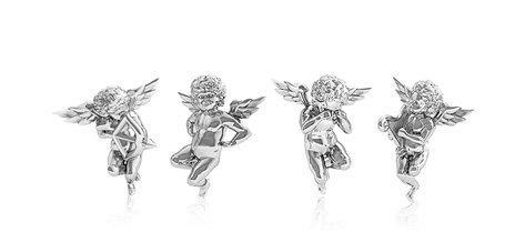 Stříbrný andělíček