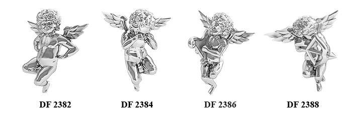 Stříbrný andílek Danfil