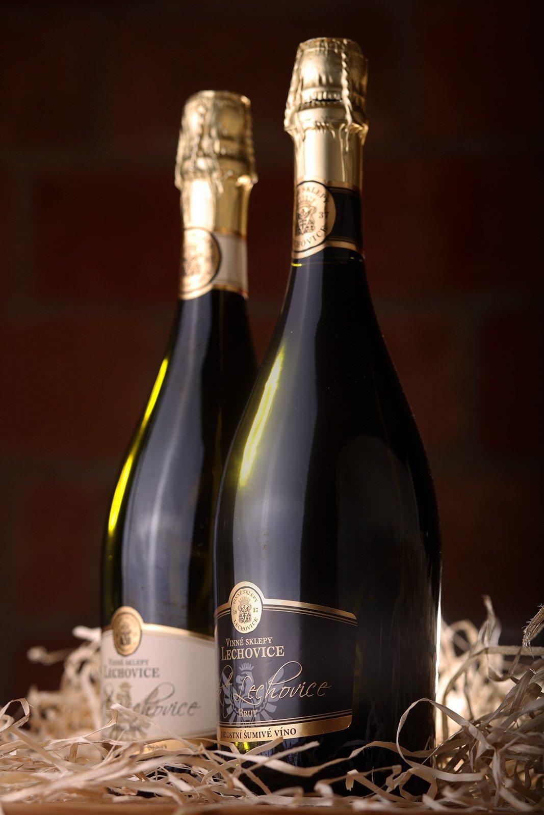 Šumivé víno Vinné sklepy Lechovice