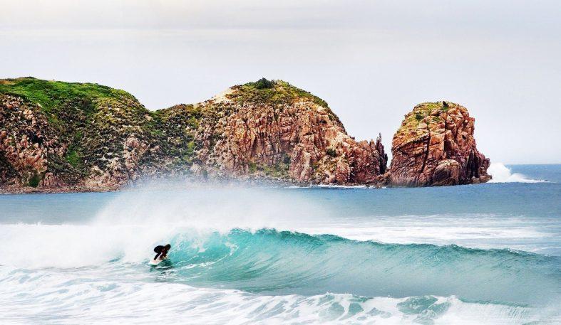 Surfování v Austrálii, Cape Woolamai