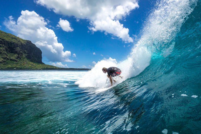 Surfování Mauricius