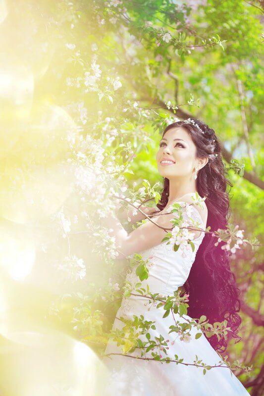 Svatba na zahradě