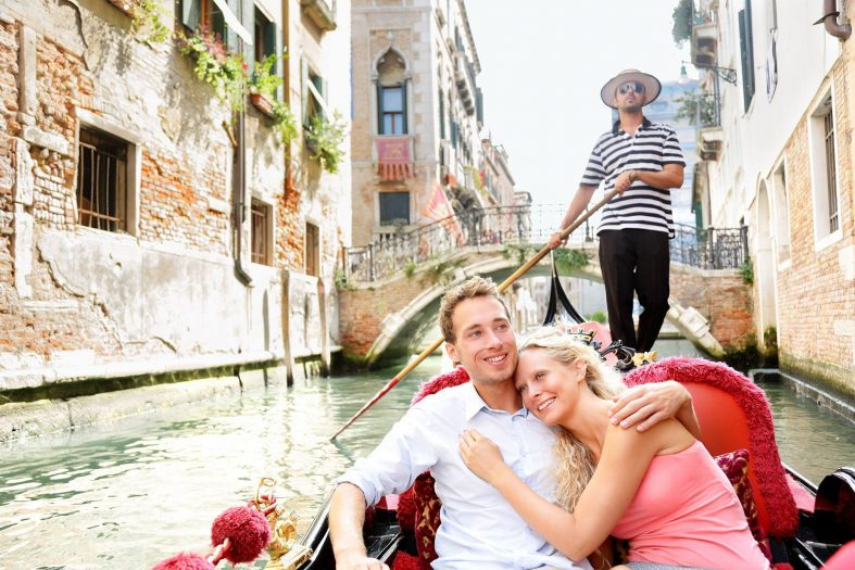 Svatební cesta Benátky