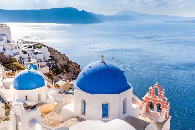 Svatební cesta Santorini