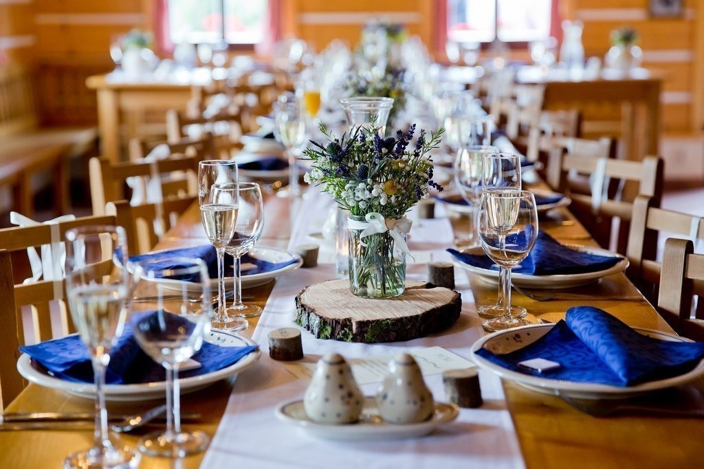 Svatební hostina v Kozím Chlívku