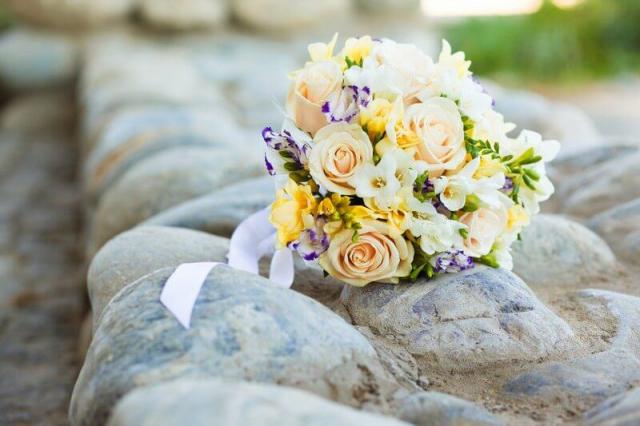 Svatební kytice na svatbu