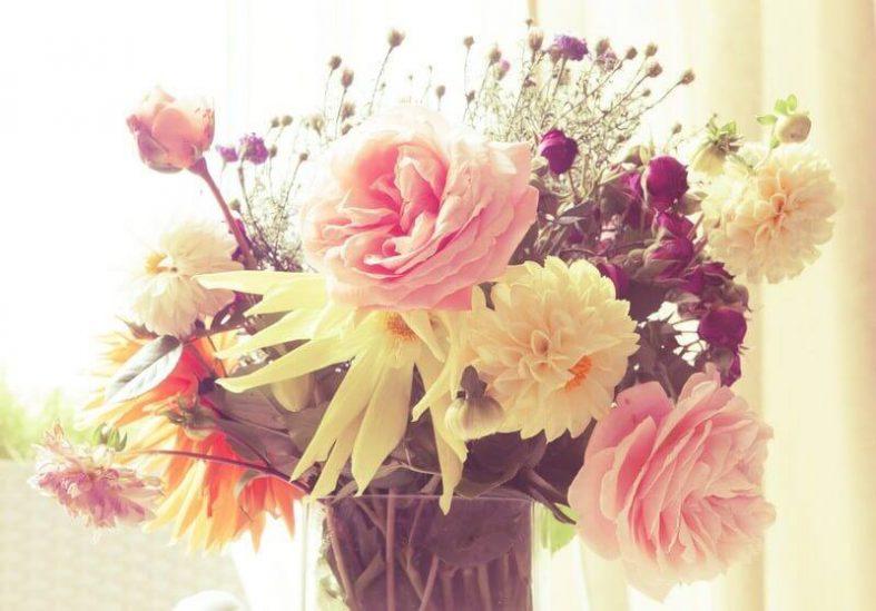 Svatební kytice ve vintage stylu