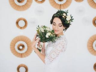 Svatební ozdoby do vlasů - květiny