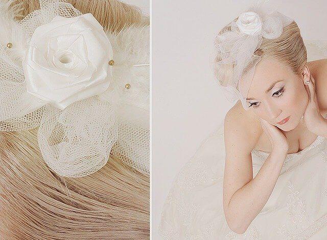 Svatební ozdoba do vlasů
