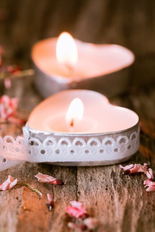 Svatební svíčky