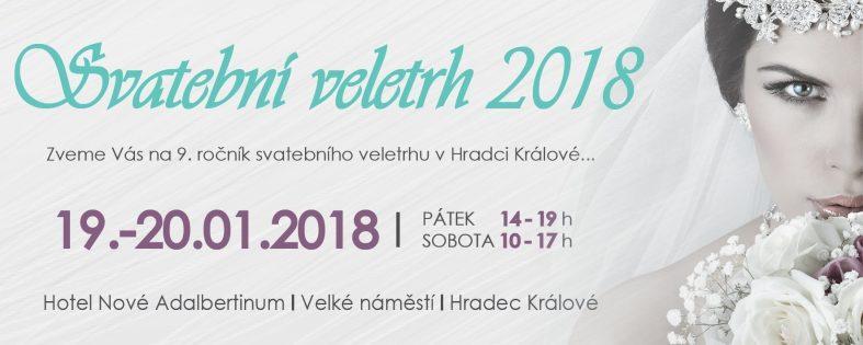 Svatební veletrh 2018 Nové Adalbertinum Hradec Králové