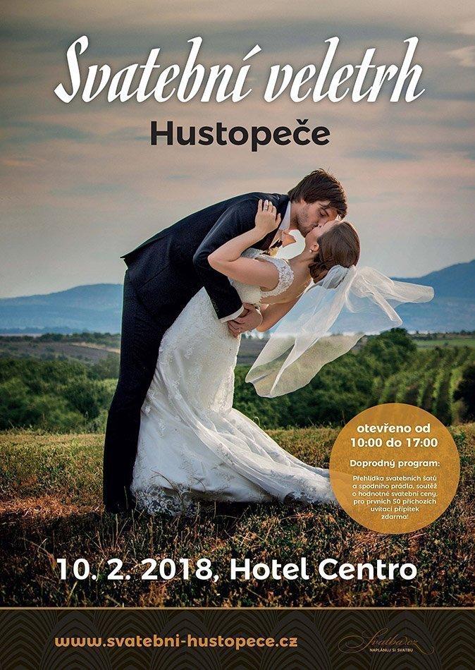 Plakát Svatební veletrh Hustopeče 2018