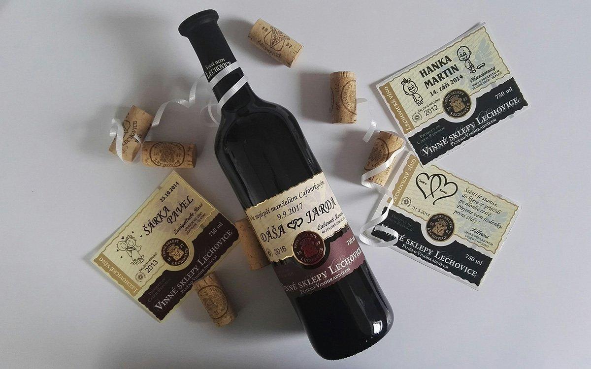 Svatební víno Vinné sklepy Lechovice