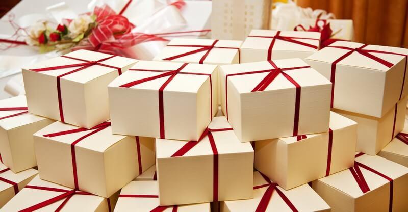 Krabička na svatební výslužku