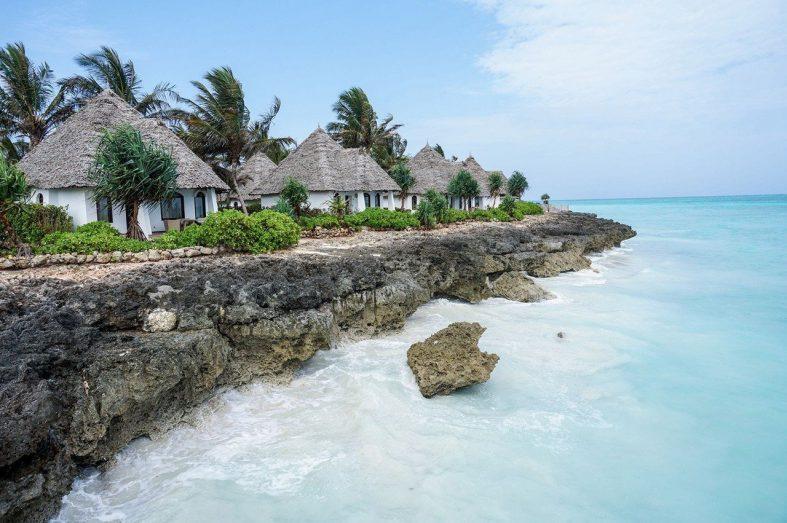 Ubytování v apartmánech na pobřeží Zanzibaru