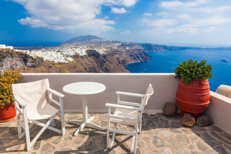 Ubytování Santorini