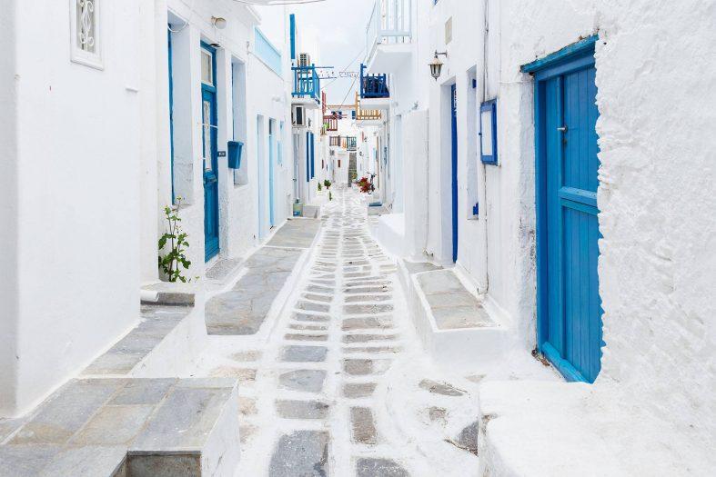 Ulice Mykonos