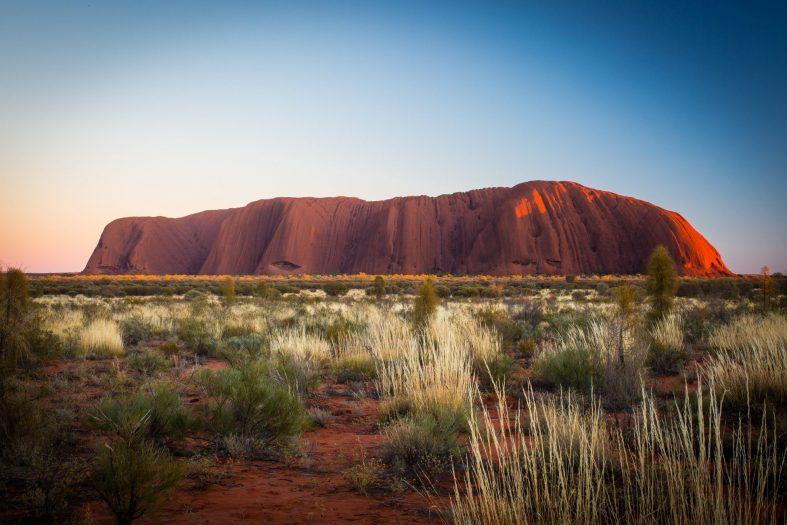 Uluru Austrálie