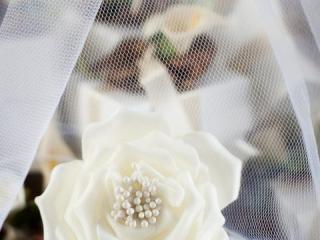 Umělý květ růže