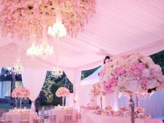 Výzdoba svatebního stanu