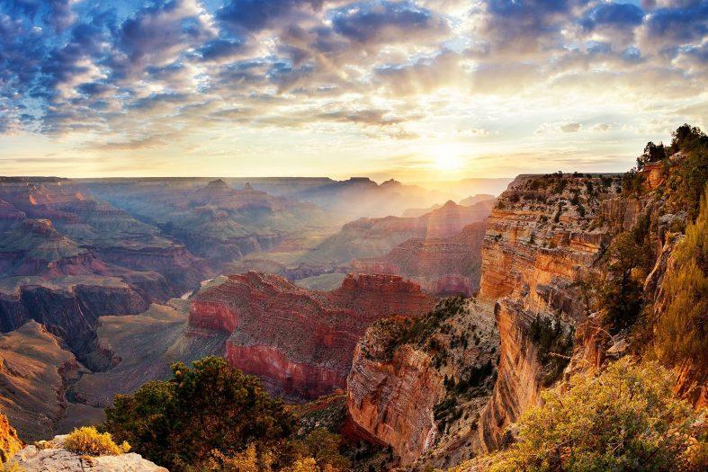 Západ slunce, Grand Canyon