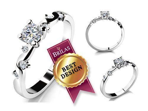 Zásnubní prsten Zeus Brilas