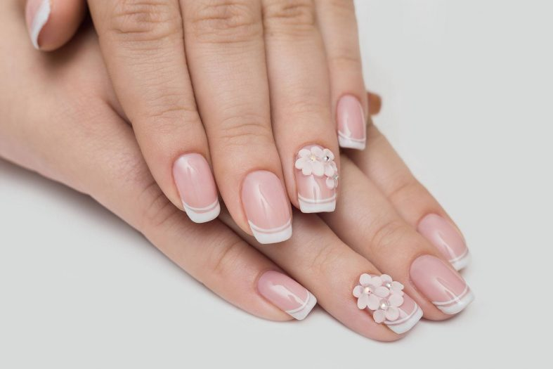 Zdobené gelové nehty