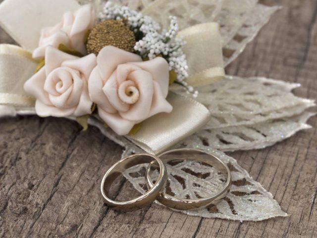 Zimní svatební dekorace